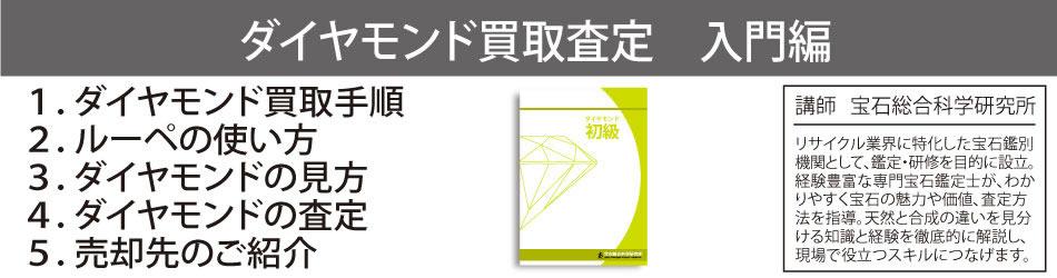 ダイヤモンド買取査定の講師は宝石総合科学研究所